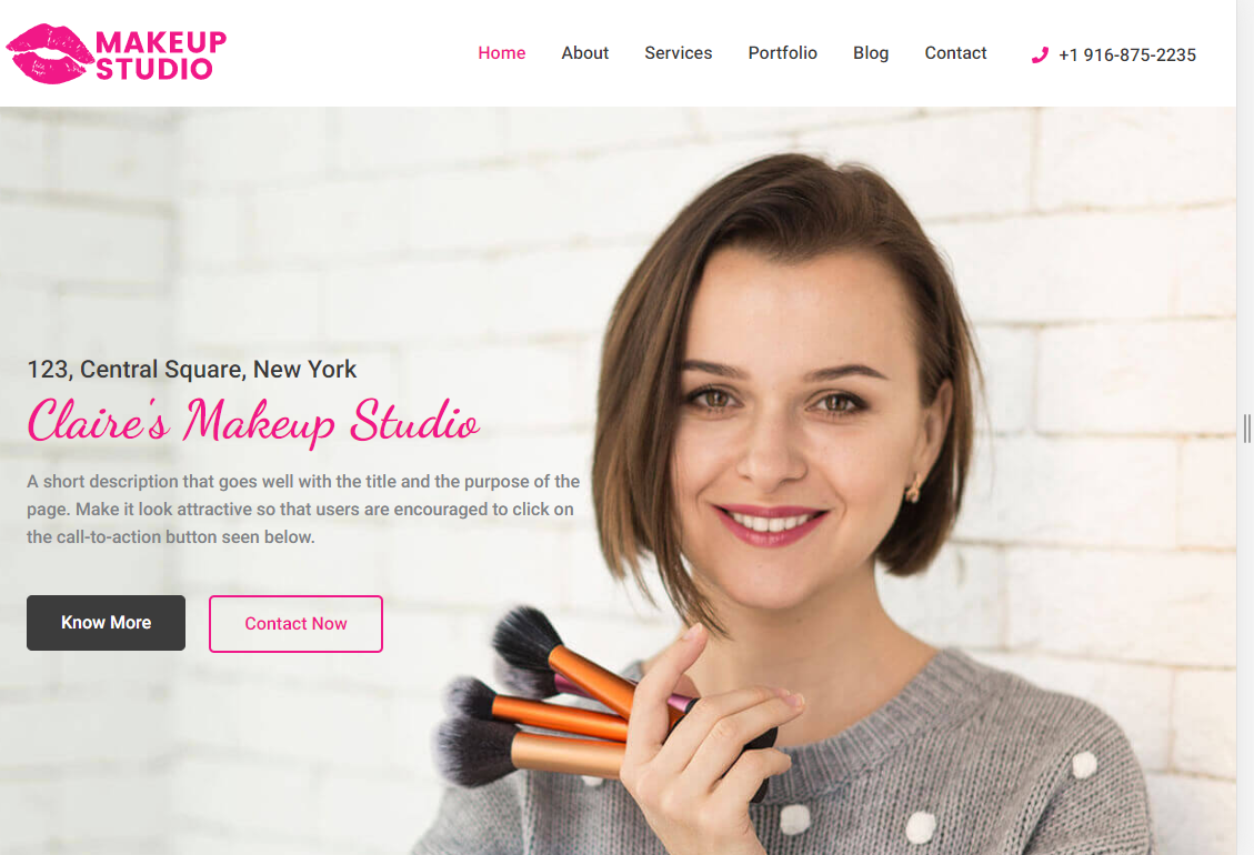 2019-07-09 17_57_23-Claire's Makeup Studio – Just another WordPress site
